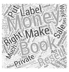 Writers make money with private label resell e vector