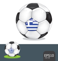 Soccer euro greece vector