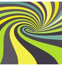 3d spiral abstract background optical art vector