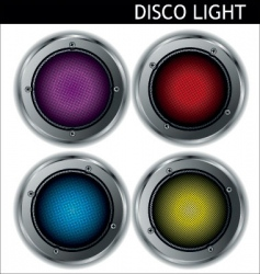 Disco light  reflector vector