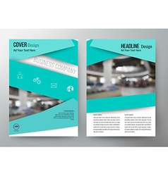 Cover design template brochure flyer leaflet vector