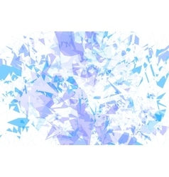 Detailed background ice fragments texture vector