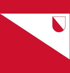 flag of utrecht in utrecht netherlands vector image vector image