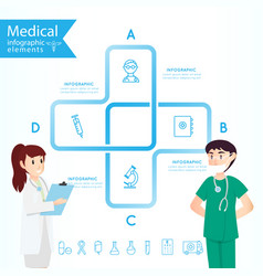Medical health and healthcare icons and vector