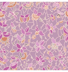 ornate floral pattern vector image