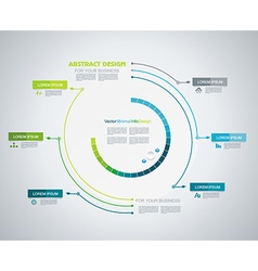 Minimal Timeline Infographic design Can be used vector image