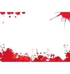 Background with red blotches vector