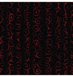 Black red textile pattern background vector