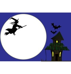 Witches cottage vector