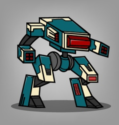 Square box style robot vector