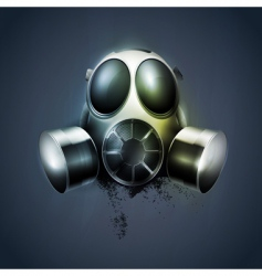 remedy gas mask respirator vector image