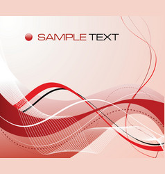 Abstract graphic composition vector