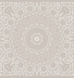 Mandala background ethnicity ornament vector