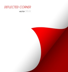 Deflected corner vector