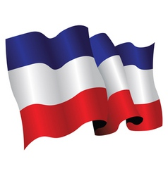 yugoslavia vector image