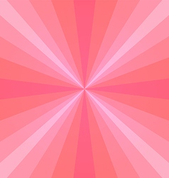 Pink sunray vector