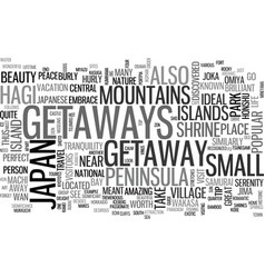 Japanese travel guide text background word cloud vector