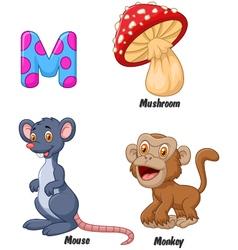 M alphabet vector