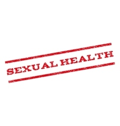 Sexual health watermark stamp vector