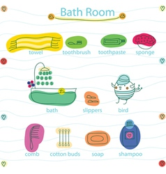 Bath room vector