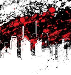 urban art design vector image