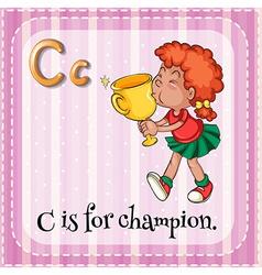 Alphabet c vector