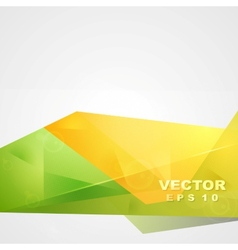 Bright sunny summer tech design vector image vector image