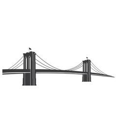 brooklyn grey vector image