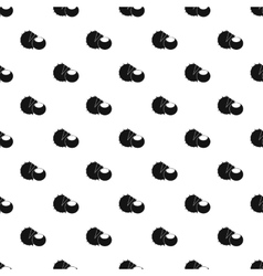 Chestnut pattern simple style vector