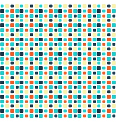 Seamless bright mosaic abstract pattern vector