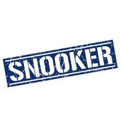 Snooker square grunge stamp vector