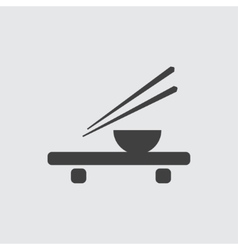 Asian food icon vector