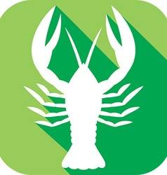 Crawfish Icon vector image