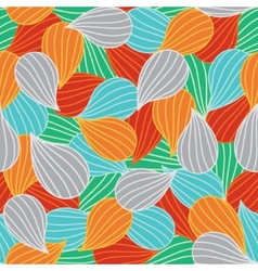 Bulbs seamless colorful ornamental pattern vector