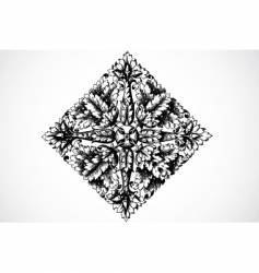 seed ornament vector image