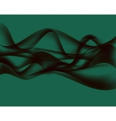 Abstract Wave on White Background vector image