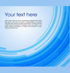 abstract circle rectangle background in blue color vector image vector image