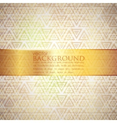 Abstract golden background vector