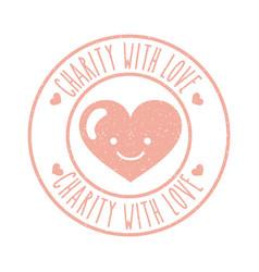 Charity donate children vector