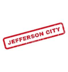 Jefferson city rubber stamp vector