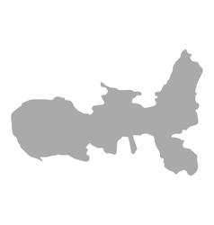 Map of Elba vector image vector image