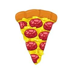 Pizza Slice vector image vector image