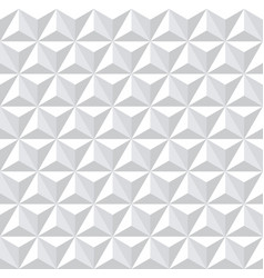 Seamless white 3d pattern vector