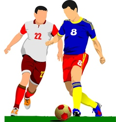 al 0919 soccer04 vector image