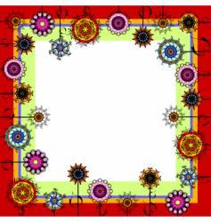 background floral vector image