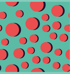 Abstract circle pattern vector