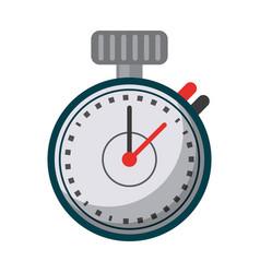 chronometer time sport tool vector image