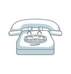 Kawaii telephone call talking communication vector