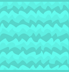 water wave seamless pattern vector image