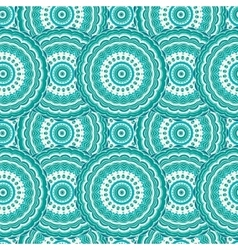 Ornamental seamless pattern background with many vector